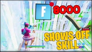 Fortnite Hosts SEN Bugha For 8000 Viewers! Shows Off His Skills!