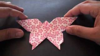 Origami Daily - 201: Lovely Butterfly - TCGames [HD]