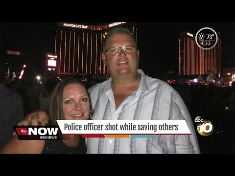 CVPD officer shot while saving others