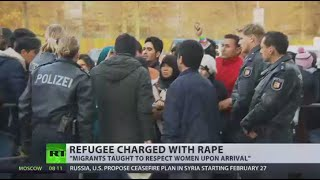 Afghan refugee charged with rape of female worker at Belgian asylum center