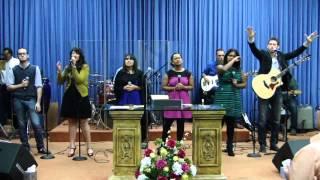 Alabanza y Adoración del 4 de agosto /13 con --- Jóvenes de Buen Oleo
