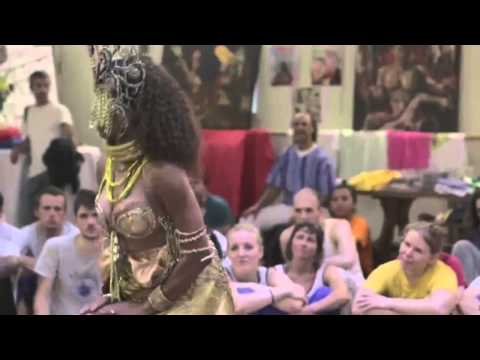 Oxum danced by master of Afro Brazilian dance Solange Ferreira