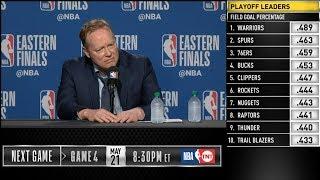 Mike Budenholzer postgame reaction | Raptors vs Bucks Game 3 | 2019 NBA Playoffs