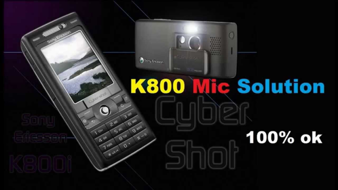 sony ericsson k800 mic solution youtube. Black Bedroom Furniture Sets. Home Design Ideas