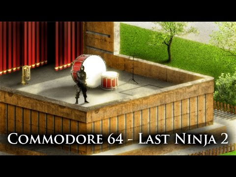 Last Ninja 2 - Commodore 64 - photoshop remastering