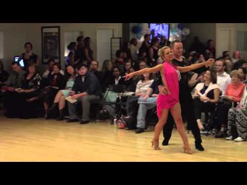 Cha Cha Show Dance at Ultimate Ballroom Dance Studio in Memphis