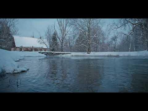 Winter Swimming. -22C (-7F)