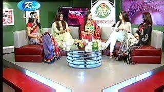 Celebrity Talk Show Eid Ul Azha Safa Kabir Peya Bipasha Sabnam Faria Tisha