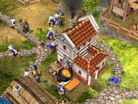 Settlers 2 10th Anniversary - Обзор (Лучшие Компьютерные Игры)