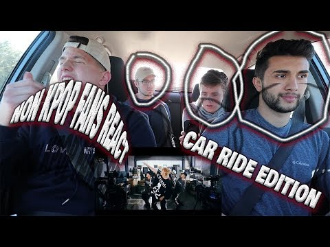 NON KPOP FANS REACT TO BTS FOR FIRST TIME (MIC DROP, CYPHER PT.4, FAKE LOVE) | CAR RIDE EDITION