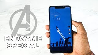 Avengers End Game Special Homescreen Set Up | Avengers Nova Set Up