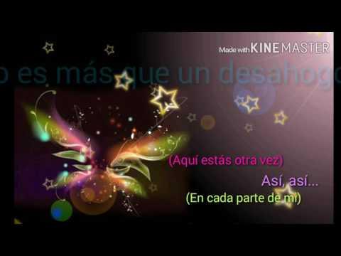 Oscar Alberto - Aquí estás otra vez (Letra) Salsa romantica
