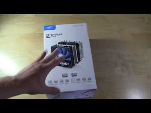 DeepCool Neptwin CPU Cooler Unboxing & Overview