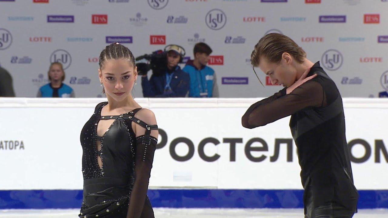 Елизавета Шанаева и Дэвид Нарижный - победители российского этапа Гран-при! Произвольный танец