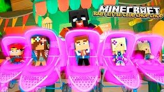 LITTLE CLUB BABIES CHOP CHOP - Minecraft Hide N Seek - Little Baby Max Games