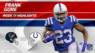 Frank Gore Gets 100 Yards on the Ground vs. Houston!