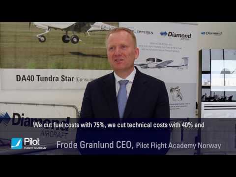 Flight Academies speaking about the benefits of operating Diamond Aircraft planes