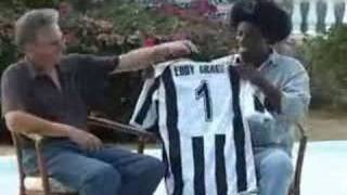 Eddy Grant - the fan of Partizan Belgrade