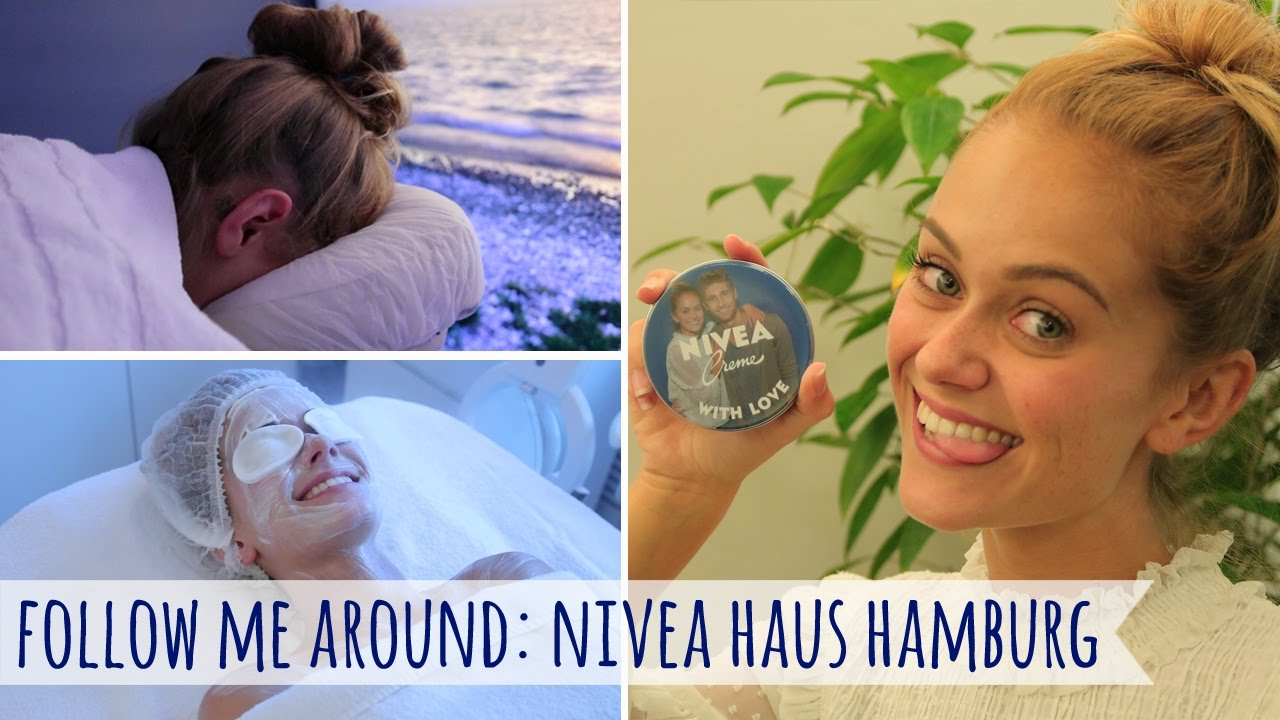 Follow Me Around NIVEA Haus Hamburg I Snukieful