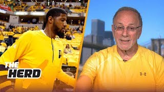 Peter Vecsey talks Los Angeles Lakers, Paul George, Lonzo Ball with Colin Cowherd | THE HERD