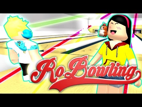 Bowling Date With Gamer Chad - The Kiss Of DEATH!! - Roblox RoBowling - DOLLASTIC PLAYS!
