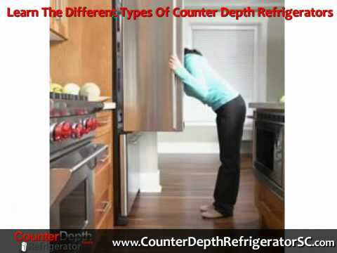 Counter Depth Refrigerators  Information on Types Prices