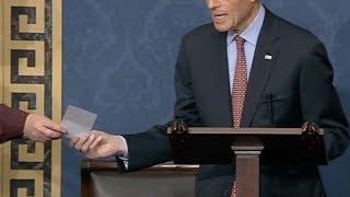 California Shooting Highlights Senate Gun Control Debate In Real Time