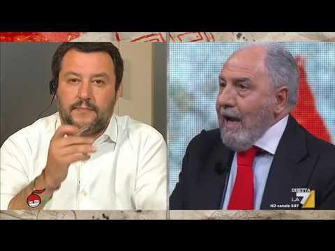 Antonio Caprarica, Giuliano Cazzola e Matteo Salvini discutono di vitalizi e privilegi