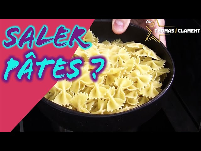 Faut-il saler l'eau des Pâtes ?