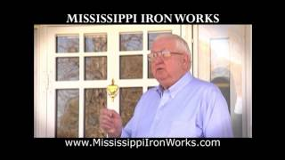 Mississippi Iron Works | Security Storm Door