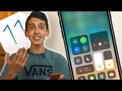 Обзор iOS 11 — моя РЕАКЦИЯ и первое впечатление!