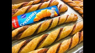 How to make Churros with Pillsbury Crescent Rolls?