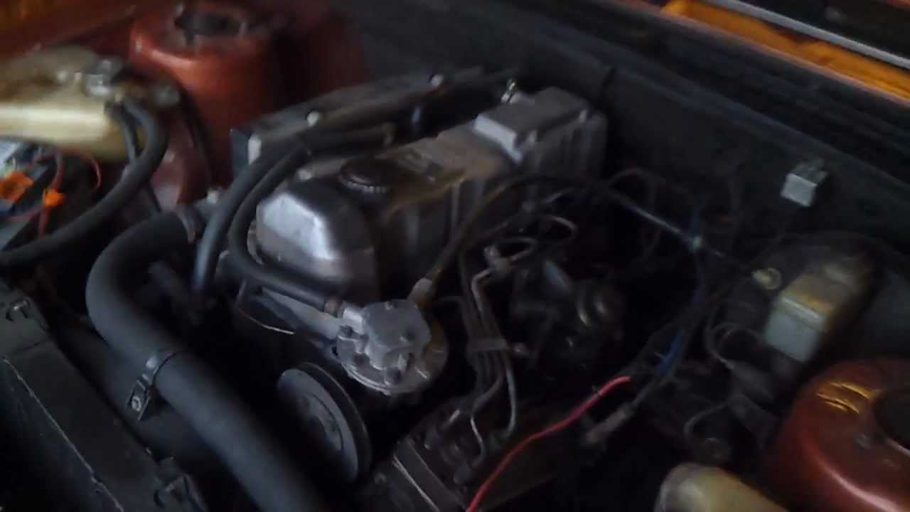 Diesel Engine Working >> Opel Rekord E1 2.3 Diesel de 1980 - YouTube