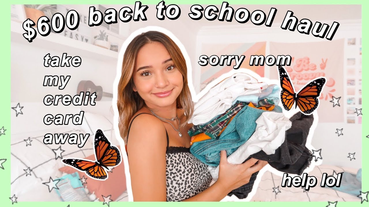 1c8de0272 ~MASSIVE~ back to school try on clothing haul 2019 ft. princess polly