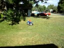 the kid on the toy 4 wheeler holland michigan1/3