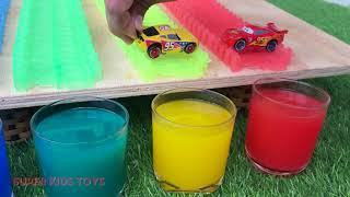 48 Colors Lightning McQueen Learning Toys for Kids   Disney Cars Cartoons Videos