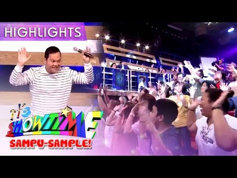 Bayani makes the madlang people groove with his energetic sample | It's Showtime Sampu-Sample