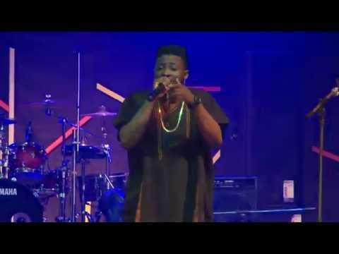 Olamide's Protege, Chinko Ekun Freestyles to DaGrin's Pon Pon at Felabration2015