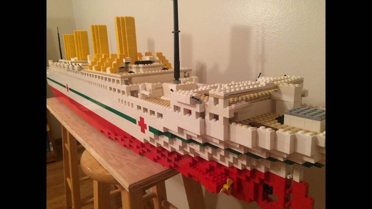 Lego Hmhs Britannic Model【5 Foot Model】 Youtube