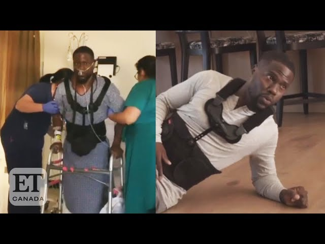 Kevin Hart Shares Emotional Recovery Video