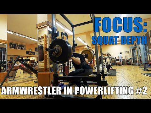 ARMWRESTLER IN POWERLIFTING TRAINING 2020 #2