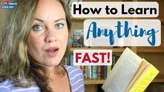 HOW TO LEARN ANYTHING ⚡ FAST ⚡