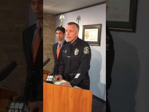 Press conference regarding Austin Police DNA Lab
