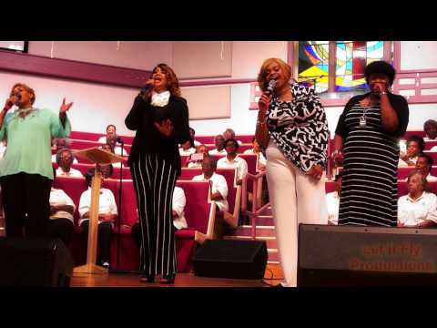 Johnny Jackson ,Jr.  Gospel is Alive - The Clark Sisters - Blessed & Highly Favored - 5 1 2017