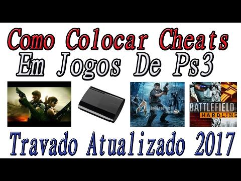 TUTORIAL - COMO COLOCAR CHEATS EM JOGOS DE PS3 TRAVADO- Atualizado 2017