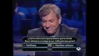 Mejor Pregunta ¿Quién Quiere Ser Millonario? Rocco Siffredi