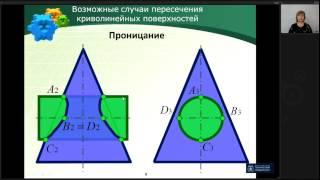 Лекция 13 | Начертательная Геометрия | ОмГТУ | Лекториум(Лекция 13. Пересечение поверхностей (метод концентрических сфер) | Курс: Начертательная Геометрия | Лектор:..., 2015-04-09T15:01:04.000Z)
