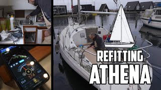 Sail Life - Silent Noctua fans & getting stared fixing Obelix - DIY sailboat projects