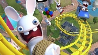 CGR Undertow - RABBIDS LAND review for Nintendo Wii U