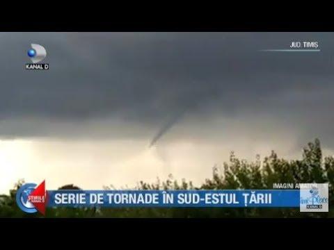 Stirile Kanal D (11.07.2018) - Serie de tornade in sud-estul tarii! Editie COMPLETA